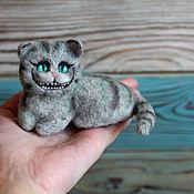 Куклы и игрушки handmade. Livemaster - original item Cheshire cat from Alice toy pocket. Handmade.