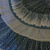 Skirts handmade. Livemaster - original item Long hippie boho skirt with lace. Handmade.