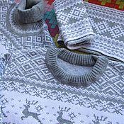 """Одежда ручной работы. Ярмарка Мастеров - ручная работа Свитер  """"Олень и солнце"""". Handmade."""