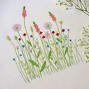Картины и панно handmade. Livemaster - original item Hand embroidery