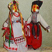 Куклы и игрушки ручной работы. Ярмарка Мастеров - ручная работа Кукла мотанка Неразлучники. Handmade.