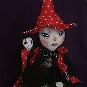 """Куклы и игрушки ручной работы. Ярмарка Мастеров - ручная работа Кукла текстильная.""""Мухомора"""".. Handmade."""