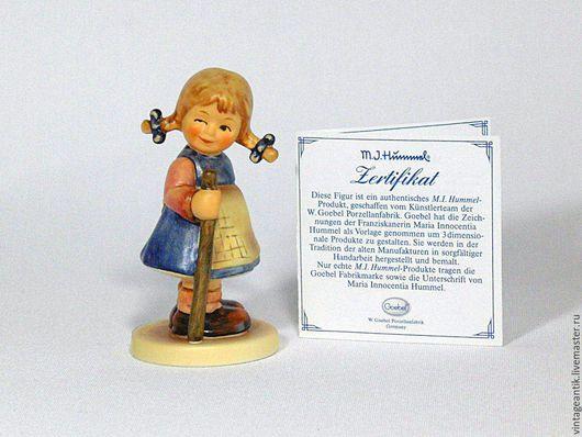 Статуэтки ручной работы. Ярмарка Мастеров - ручная работа. Купить Пять коллекционных фигурок Goebel, Германия. Handmade. Комбинированный