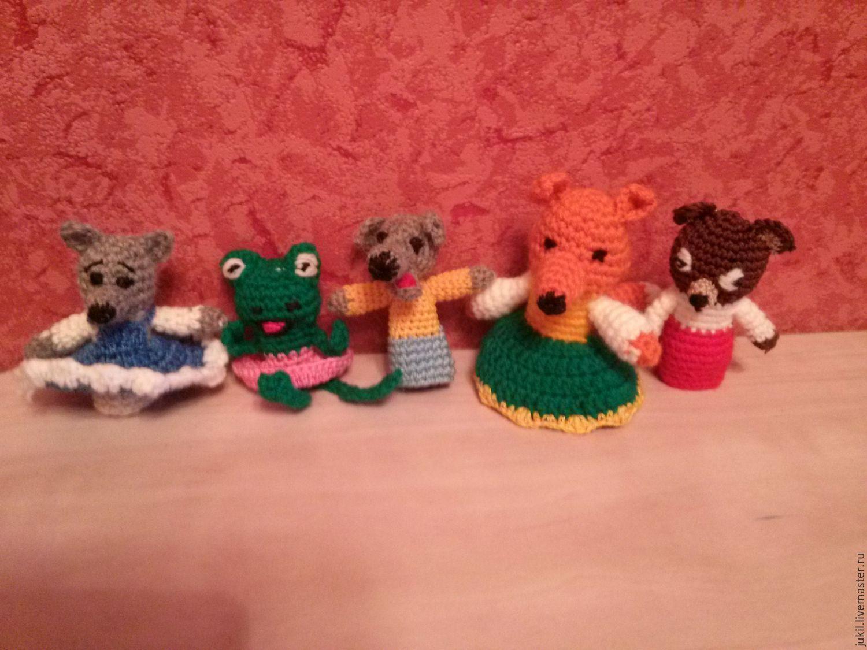 вязаные пальчиковые куклы купить в интернет магазине на ярмарке