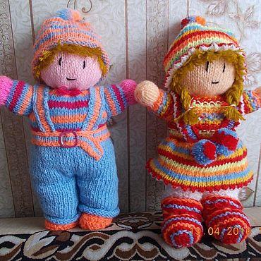 Куклы и игрушки ручной работы. Ярмарка Мастеров - ручная работа Куклы: красотули. Handmade.