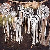 Свадебный салон ручной работы. Ярмарка Мастеров - ручная работа Коллекция Белая Свадьба! Ловцы Счастья, комплект. Handmade.