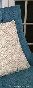 Textiles handmade. Livemaster - original item Decorative pillow. Handmade.