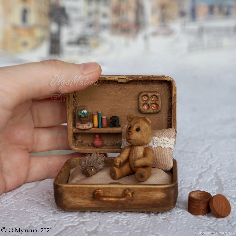 Wooden Teddy bear and chemotopic, Doll houses, Cheboksary,  Фото №1