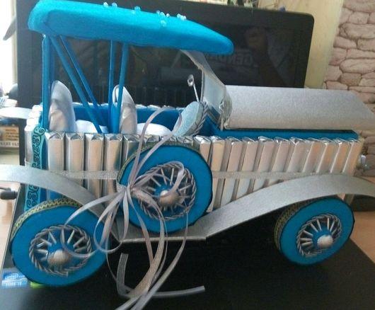 Персональные подарки ручной работы. Ярмарка Мастеров - ручная работа. Купить Ретро автомобиль. Handmade. Ретро стиль, шоколад
