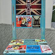 Дизайн и реклама ручной работы. Ярмарка Мастеров - ручная работа декор стульев в индустриальном стиле. Handmade.