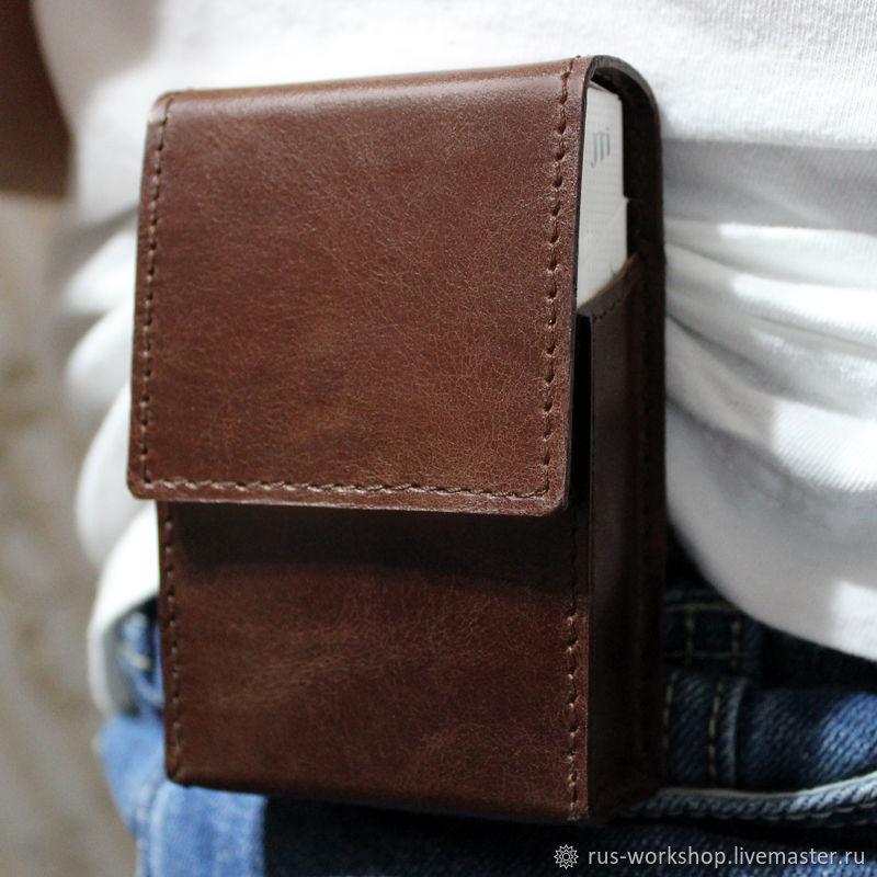 Кожаный портсигар для сигарет купить в москве ротманс сигареты интернешнл купить в москве