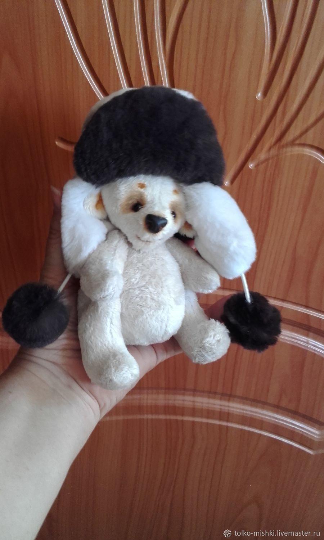 Мишка в ушанке, Куклы и пупсы, Москва,  Фото №1