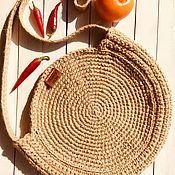Сумка через плечо ручной работы. Ярмарка Мастеров - ручная работа Сумка в стиле boho. Handmade.