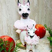 Куклы и игрушки ручной работы. Ярмарка Мастеров - ручная работа Звераножка. Handmade.