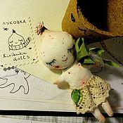 Куклы и игрушки ручной работы. Ярмарка Мастеров - ручная работа Малютка луковка:). Handmade.