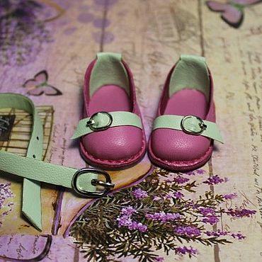 Обувь ручной работы. Ярмарка Мастеров - ручная работа В НАЛИЧИИ.Туфельки и ремешок для кукол Паола Рейна. Handmade.