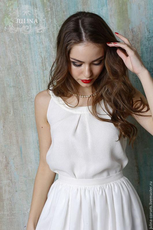 Блузка Из Шелка Купить Москва