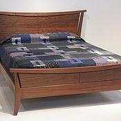 Для дома и интерьера handmade. Livemaster - original item Double bed No. №13