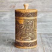 Русский стиль handmade. Livemaster - original item Large box of birch bark