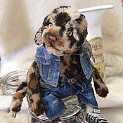 Куклы и игрушки ручной работы. Ярмарка Мастеров - ручная работа Котик тедди Вуди. Handmade.