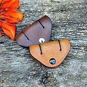 Сумки и аксессуары handmade. Livemaster - original item Case-holder for headphones. Handmade.