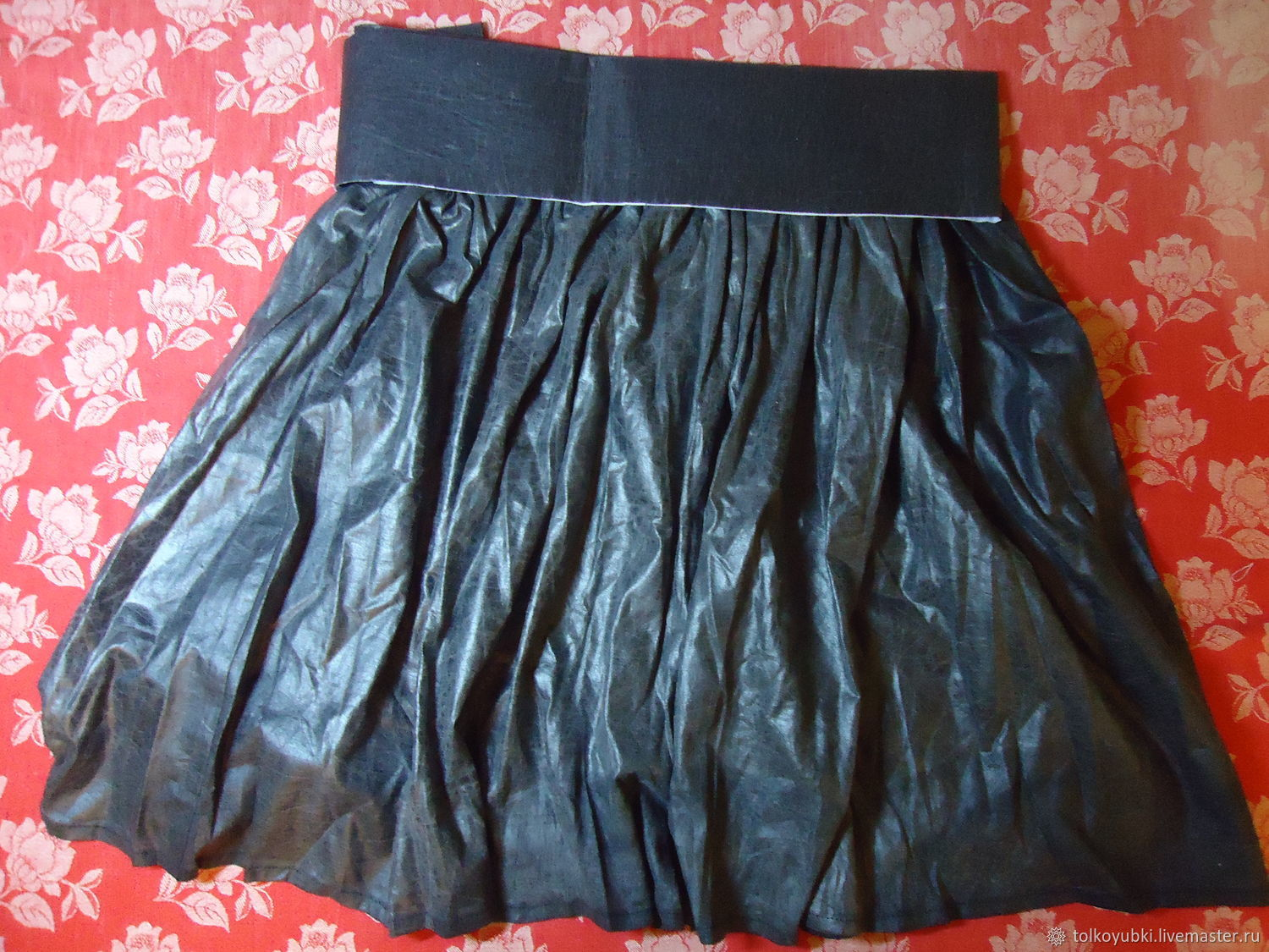 Designer cotton carbon Copy skirt, Skirts, Novosibirsk,  Фото №1