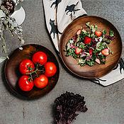 Посуда handmade. Livemaster - original item A set of wooden dishes (2#45. Handmade.