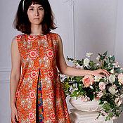 """Одежда ручной работы. Ярмарка Мастеров - ручная работа Платье """"Цветочный чай"""". Handmade."""