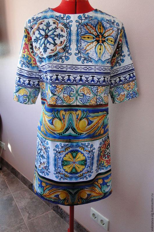 Костюмы ручной работы. Ярмарка Мастеров - ручная работа. Купить Костюм Dolce Gabbana. Handmade. Комбинированный, лето