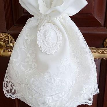 """Свадебный салон ручной работы. Ярмарка Мастеров - ручная работа Сумочка для невесты """"Зара"""". Handmade."""