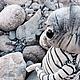 Коллекционные куклы ручной работы. Ярмарка Мастеров - ручная работа. Купить Мальчик-камушек. Handmade. Серый, море, камни морские
