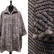 Одежда handmade. Livemaster - original item Knitted mink coat