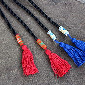 Belt handmade. Livemaster - original item Belt-lace. Handmade.