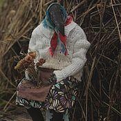 Куклы и игрушки handmade. Livemaster - original item Garret doll: Aunt Galya. Handmade.