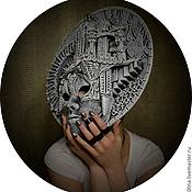 Для дома и интерьера ручной работы. Ярмарка Мастеров - ручная работа интерьерная маска-город. Handmade.