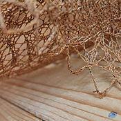 Аксессуары ручной работы. Ярмарка Мастеров - ручная работа Косынка-фишю Золотой песок. Handmade.