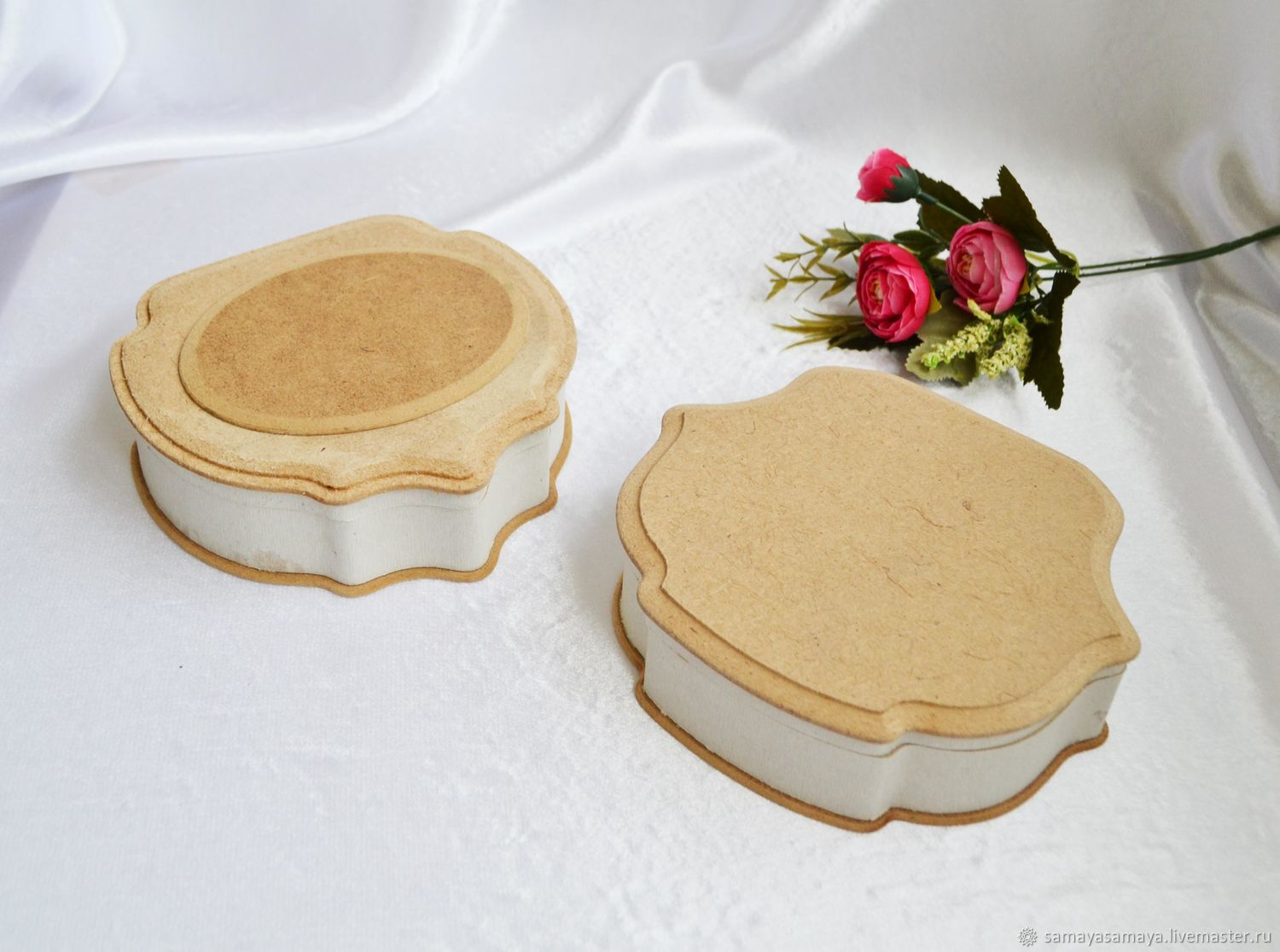 MDF boxes made of high-quality MDF, blank, Blanks for decoupage and painting, Zheleznodorozhny,  Фото №1