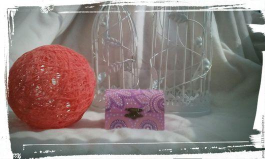 Шкатулки ручной работы. Ярмарка Мастеров - ручная работа. Купить Шкатулка ,,Розовый сундучок,,. Handmade. Розовый, акриловый лак