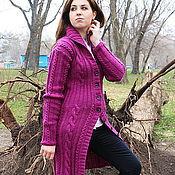 """Одежда ручной работы. Ярмарка Мастеров - ручная работа Женский кардиган """"Фиолет"""". Handmade."""