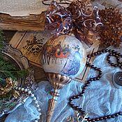 """Подарки к праздникам ручной работы. Ярмарка Мастеров - ручная работа """"Прогулка"""" Шар с пикой. Handmade."""