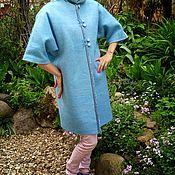 """Одежда ручной работы. Ярмарка Мастеров - ручная работа Летнее пальто """"Небесно-голубое"""". Handmade."""