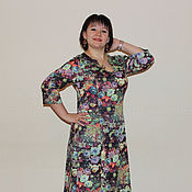 """Одежда ручной работы. Ярмарка Мастеров - ручная работа Платье """"Карнавал цветов"""". Handmade."""