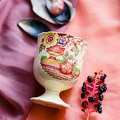 Винтаж handmade. Livemaster - original item Antique egg cup for Breakfast Royal Doulton England. Handmade.