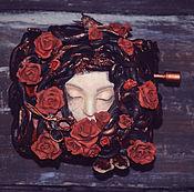 """Куклы и игрушки ручной работы. Ярмарка Мастеров - ручная работа Музыкальная шкатулка """"Розовый куст"""". Handmade."""