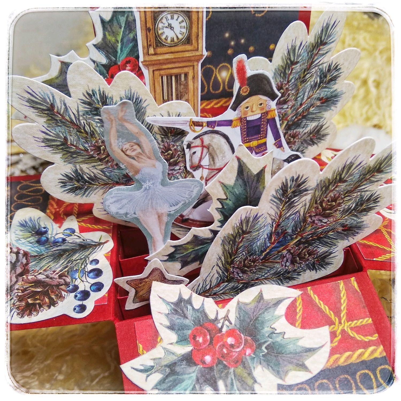 Щелкунчик открытка- коробочка, Открытки, Николаевск-на-Амуре,  Фото №1