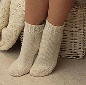 Аксессуары handmade. Livemaster - original item Women`s wool socks