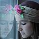 """Шляпы ручной работы. Заказать Летняя чалма """"Je reve"""" (Мечтаю...). Наталья Прокофьева (la-magie-spb). Ярмарка Мастеров."""