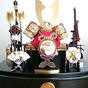 """Игрушки ручной работы. Ярмарка Мастеров - ручная работа Японская интерьерная кукла """"Доспехи воина"""". Handmade."""
