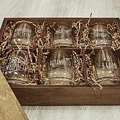 Посуда handmade. Livemaster - original item Set of whiskey glasses. Handmade.