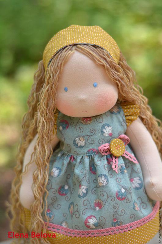Вальдорфская игрушка ручной работы. Ярмарка Мастеров - ручная работа. Купить Вальдорфская кукла Настюша. Handmade. Вальдорфская кукла